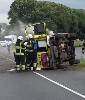 Een ongeluk in een ambulance: wat dan?
