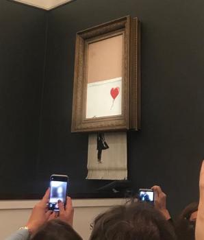 Hoe Banksy's schilderij Girl with Balloon wereldnieuws werd – een juridische blik op de feiten