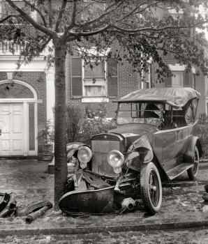 Aansprakelijkheid bij schade zonder botsing met een andere automobilist